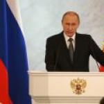 В послании Федсобранию президент затронул тему ТЭК