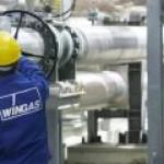 """Газпром"" сократит половину персонала Wingas"