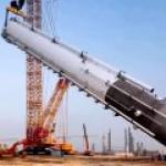 Амурский ГПЗ будет строить один из четырех крупнейших в мире кранов