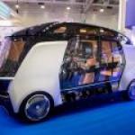 """""""Камаз"""" продемонстрировал новый беспилотный электробус"""