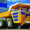 Белоруссия готовится выпустить беспилотный грузовик-гигант