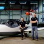Норвегия представила в Фарнборо электрогибридный гидросамолет