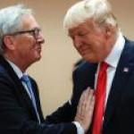 Трамп обещал Юнкеру заполонить Евросоюз американским СПГ