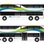 Полностью электрический двухэтажный автобус появится в США
