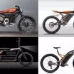 Harley Davidson запускает целую линейку электробайков