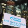 Электронные торги российским газом в Европе идут весьма успешно