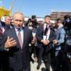 Путин принял участие в церемонии закладки первого мегатанкера