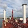 Maersk впервые в мире поставила на танкер роторный парус