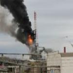Пожар на Московском НПЗ серьезных последствий не имел