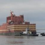 Первая в мире плавучая АЭС идет в Певек