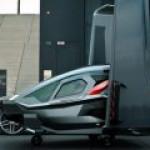 Оригинальный концепт аэромобиля представил старт-ап EVA