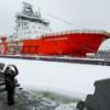 """Новейший высокотехнологичный ледокол получила """"Газпром нефть"""""""