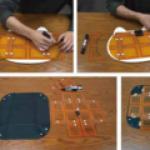 Японские ученые создали гибкое и очень тонкое беспроводное зарядное устройство