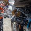 «Газпром» открыл СПГ-заправку для грузовиков Мостранса