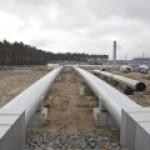 Завершается строительство приемного терминала «Северного потока-2»