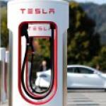 Tesla представила сверхбыструю зарядку для электрокаров