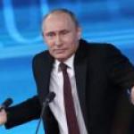 Путин: Реверса газа на Украину не существует в природе