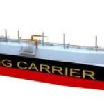 Китай решил построить гигантский СПГ-танкер