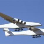 За крупнейший в мире самолет-носитель космических кораблей дают один доллар?