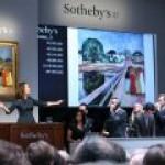 Легендарный аукцион Sotheby's купил частный коллекционер