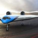 KLM представила самолет будущего Flying V
