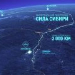 """Газпром"" вдвое нарастил поставки по газопроводу ""Сила Сибири"""