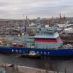 """Мощнейший в мире ледокол """"Арктика"""" идет на ледовые испытания"""