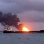 Танкер, взорвавшийся в Керченском проливе, удастся спасти?