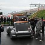 Первый в РФ электроводородный беспилотник проехал по ЦКАД-3