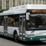 Весь общественный транспорт Санкт-Петербурга станет газовым