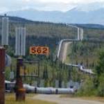 Аляскинский нефтепровод может провалиться под землю