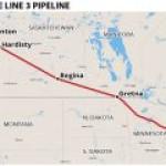 Enbridge с трудом запускает новый нефтепровод Канада-США