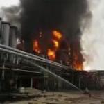 Пожар на Уренгойском ГПЗ вызвал панику на биржах РФ и Европы