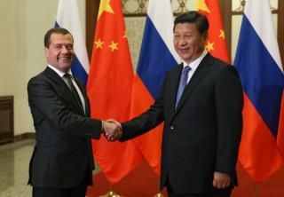Medvedev China