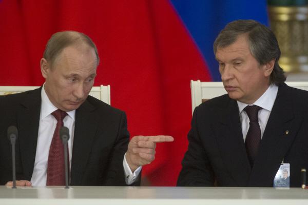 Putin Sechin Pytin