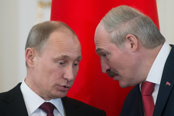 Pytin Putin Lukashenko Belarus