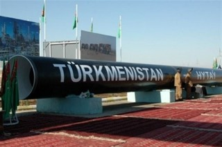 Turkmen gaz truba