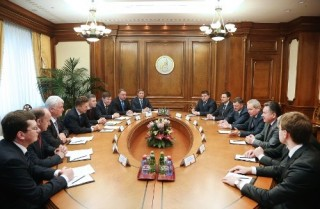 Gazprom kabinet