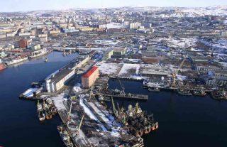 Murmanski port