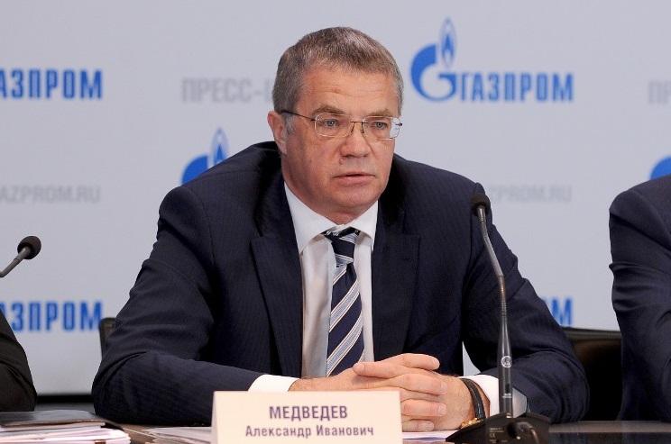 Gazprom Medvedev