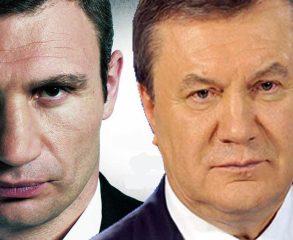 Janukovich Klichko