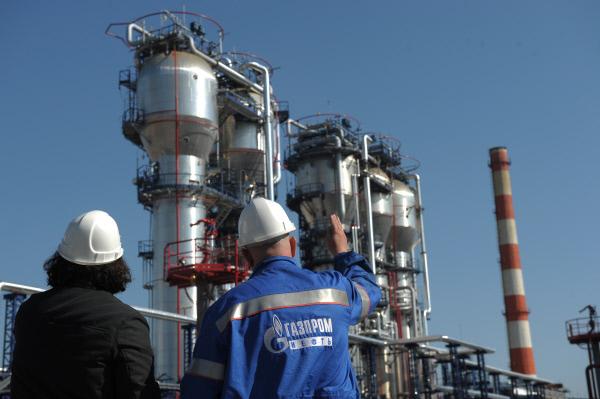 Московский НПЗ Газпром нефть