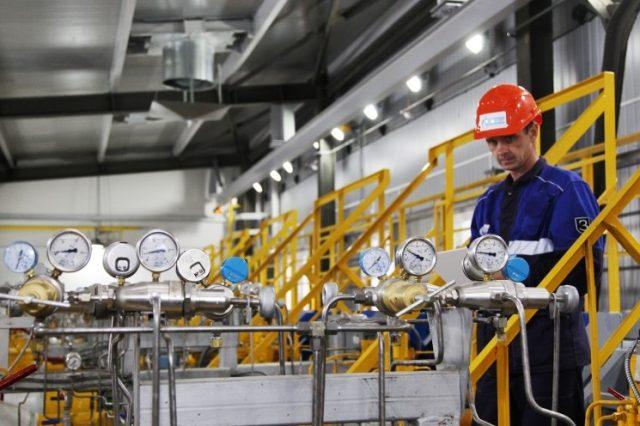 Gaz Gazprom Stanzia