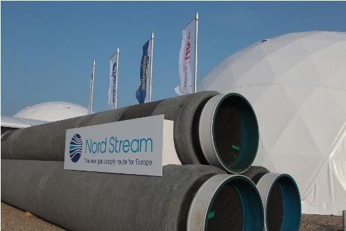 Truba Gazprom Severni Potok Nord Srtream