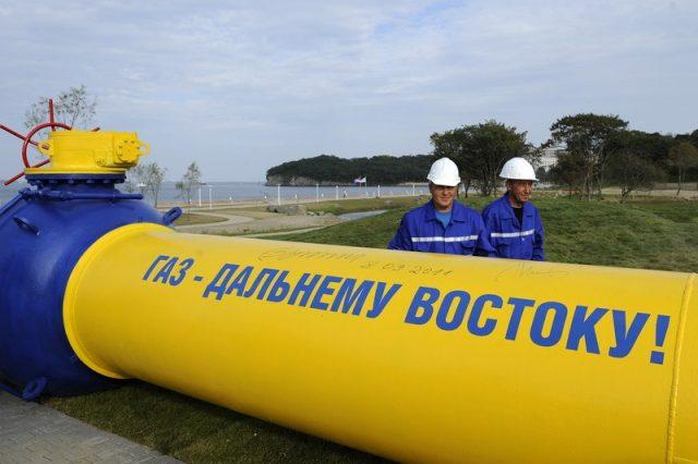 Газпром газопровод Сахалин Владивосток