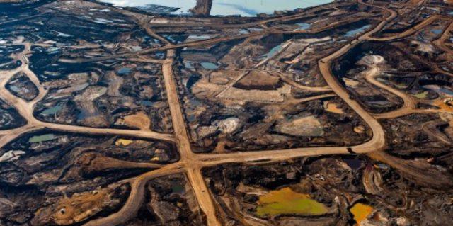 нефтеносные пески Канада Альберта