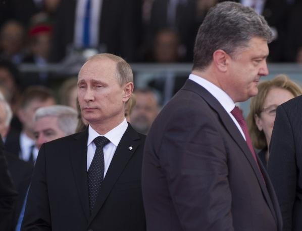 Putin Poroshenko 1