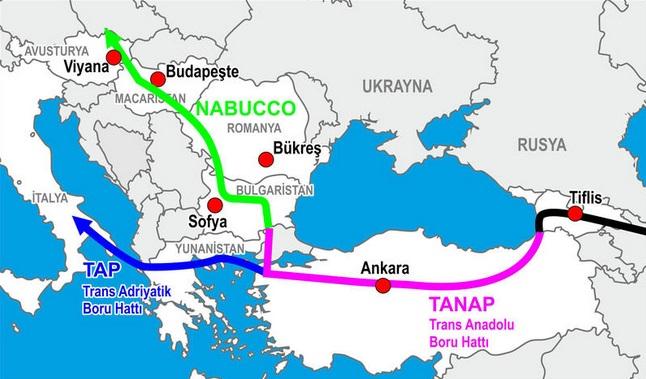 Турция по TANAP получила 4,2 млрд кубометров газа из Азербайджан