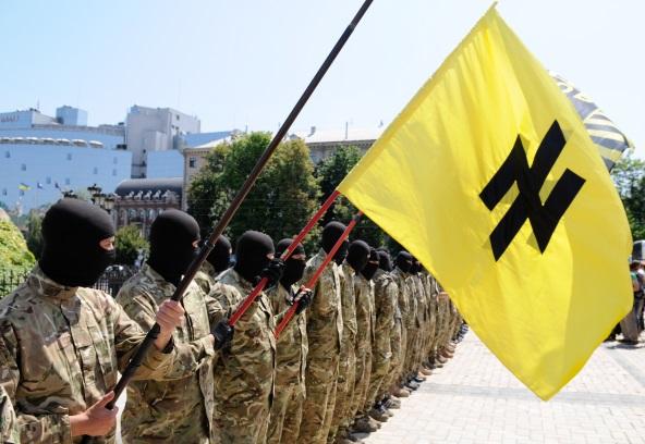 Voina Ukraina Azov Nazi