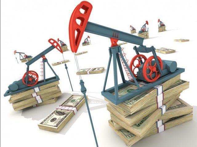 Neft Oil Dengi Dollar